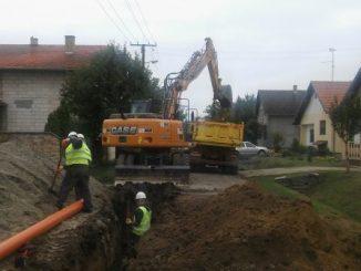 Izgradnja kanalizacione mreže u Kuli