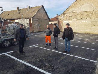 Izgradnja parkinga Bezdan