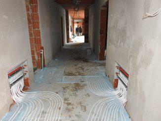 Građevinski radovi na izgradnji jaslica u Apatinu