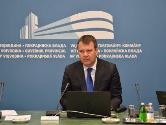 Sednica AP Vojvodine Igor Mirovic