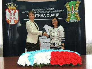 Zamenica finskog ambasadora Alatalo i L. Vasiljkovic