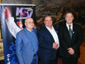 Laslo Greber na proslavi 50 godina karatea u Somboru