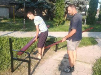 Uređenje parka u Laliću