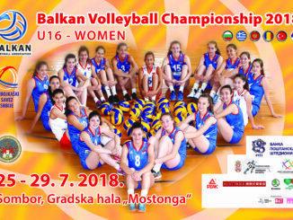 Bilbord Balkansko U16 Sombor 2018