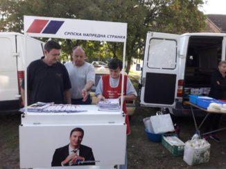 Radna akcija u Bačkom Brestovcu