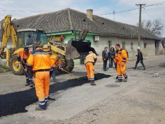PROSTOR - Sanacija udarnih rupa u naseljenom mestu Stapar - NASLOVNAA