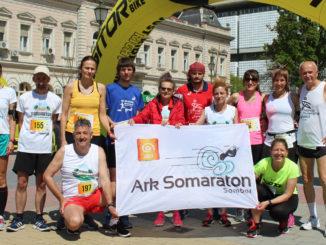 Takmičari ARK Somaratona u Bečeju 2019 godina